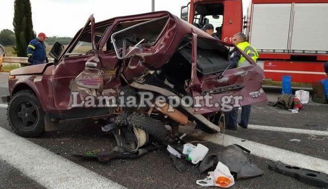 Φωτό αρχείου: Τροχαίο δυστύχημα