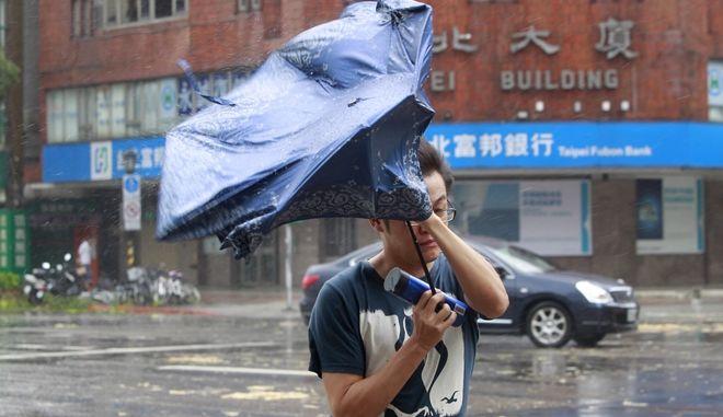 Εν αναμονή του τυφώνα Μαρία στη Ταϊβάν