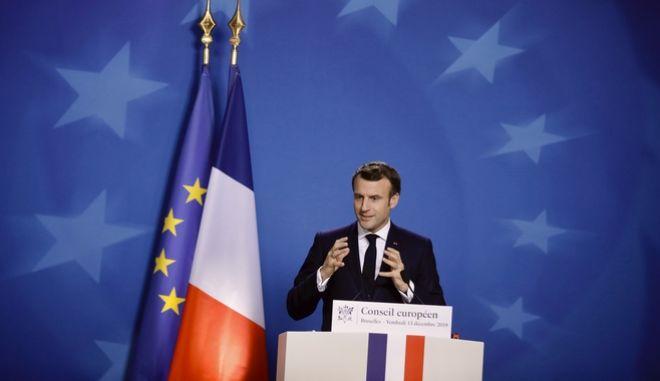 Ο Γάλλος πρόεδρος, Εμμανουήλ Μακρόν