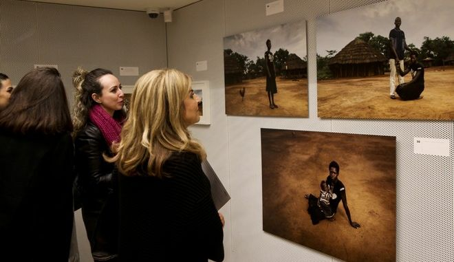 05/12/2017 Action Aid photo exhibition  Photo by Georgia Panagopoulou / Tourette photography