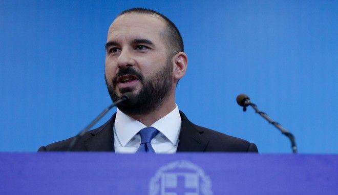 Ο κυβερνητικός εκπρόσωπος Δημήτρης Τζανακόπουλος