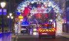 Στιγμιότυπο από το σημείο της επίθεσης στο κέντρο του Στρασβούργου