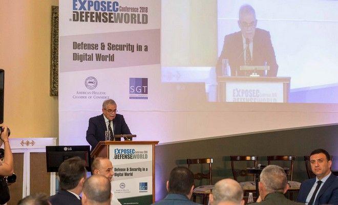 Η ομιλία του Νίκου Τόσκα στο συνέδριο Exposec Defence World