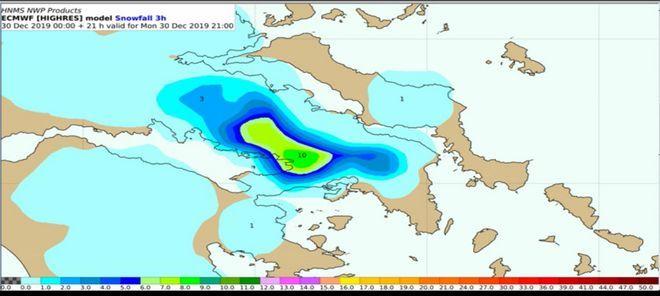 Καιρός: Η εξέλιξη της κακοκαιρίας - Πού και πόσο θα χιονίσει