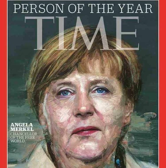 German Chancellor Angela Merkel, is featured on the cover of Time magazine.  Merkel, who has ushered Europe through the continent's debt and migration crises, was named Time's 2015 Person of the Year. [Via MerlinFTP Drop]