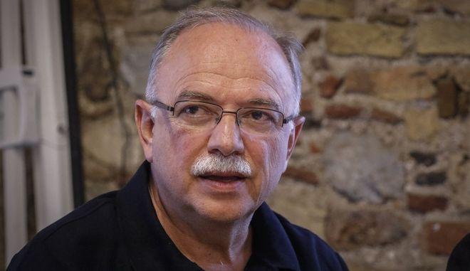 Ο ευρωβουλευτής του ΣΥΡΙΖΑ, Δημήτρης Παπαδημούλης