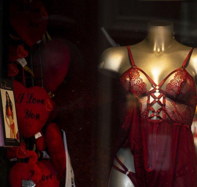 Βιτρίνα από sex shop στην Ολλανδία