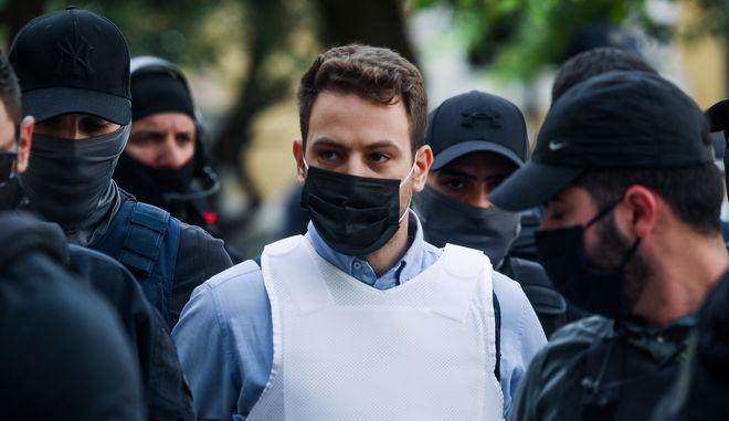 O δολοφόνος της Καρολάιν Μπάμπης Αναγνωστόπουλος.