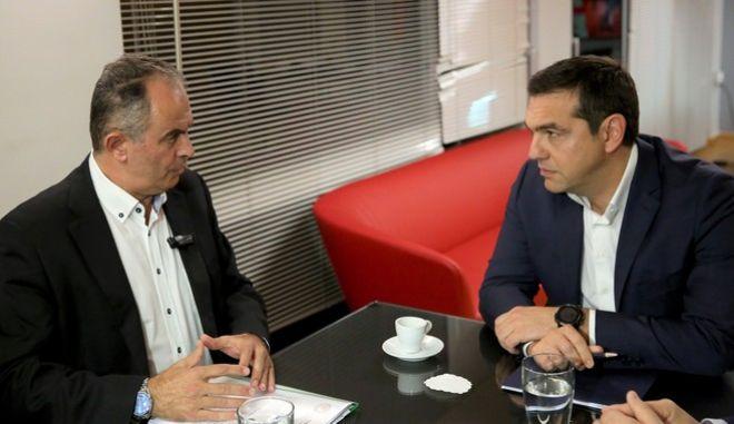 Συνάντηση Τσίπρα με προεδρείο ΓΕΝΟΠ-ΔΕΗ