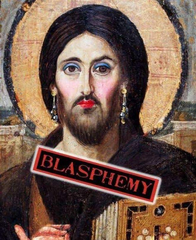 Σάλος στο Ναύπλιο με αφίσα πάρτι: Παρουσίασαν τον Χριστό με μακιγιάζ και σκουλαρίκια