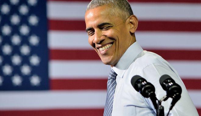 """Ο Ομπάμα απαγγέλει το """"Lose Yourself"""" του Έμινεμ"""