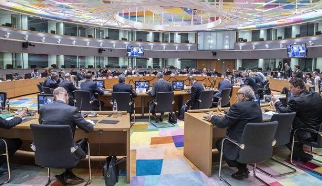 Φωτό αρχείου από συνεδρίαση του Eurogroup