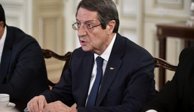 Ο Κύπριος Πρόεδρος. Φωτογραφία αρχείου.