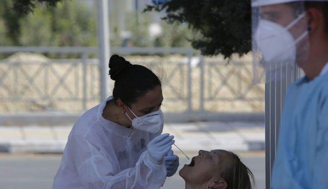 Τεστ κορονοϊού στην Κύπρο