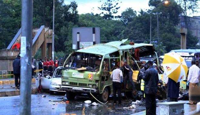 Αιματηρή επίθεση σε λεωφορείο στο Ναϊρόμπι