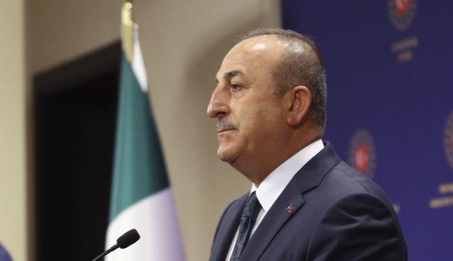Ο Τούρκος υπουργός Εξωτερικών Μελβούτ Τσαβούσογλου