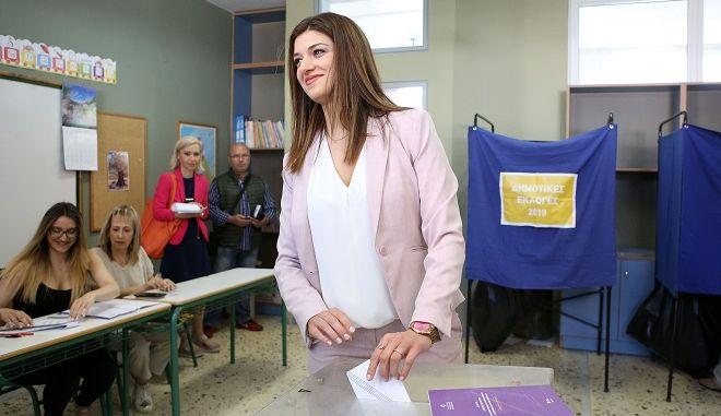 Νοτοπούλου: Ιερή υποχρέωση το δικαίωμα της ψήφου