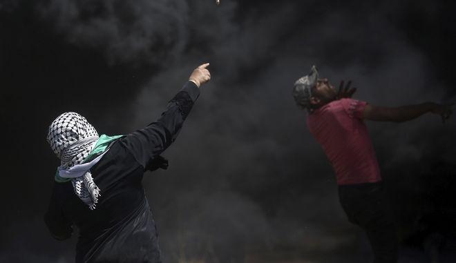 Διαδηλώσεις και αίμα στη Γάζα