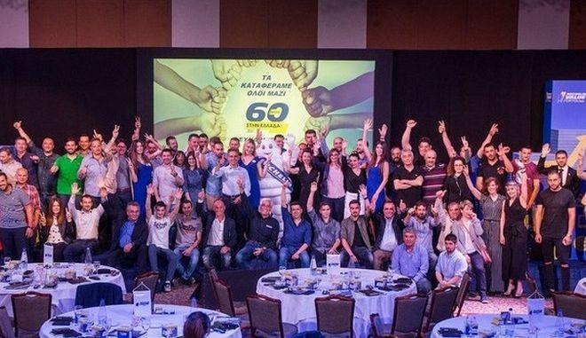 60 χρόνια η Michelin στην Ελλάδα