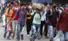 Μετανάστες εργάτες στην Ινδία