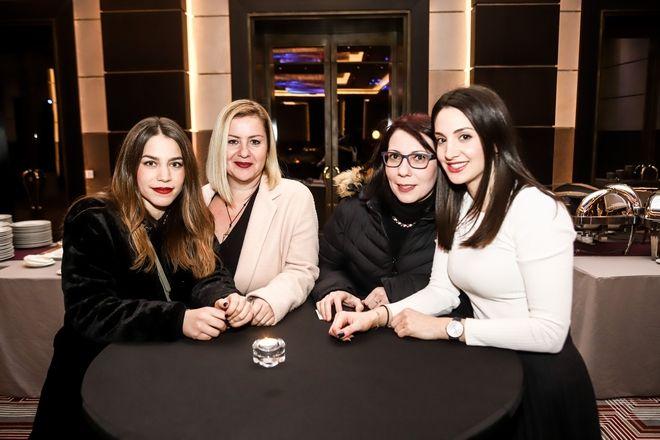 Από αριστερά: Ελένη Αναστασιάδου, Γλυκερία Κριτάκη, Στέλλα Παναγιωτάτου, Μαρία Αρακά