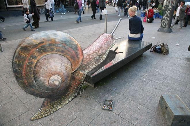 11 απίστευτες 3D ζωγραφιές στο δρόμο που θα σας αφήσουν με το στόμα ανοιχτό