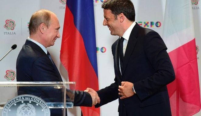 Πούτιν: Οι κυρώσεις δεν μας επιτρέπουν να συνεργασθούμε με την Ιταλία