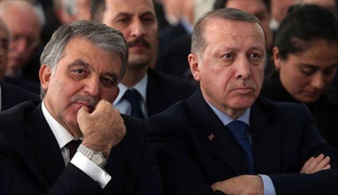 Ερντογάν και Γκιουλ
