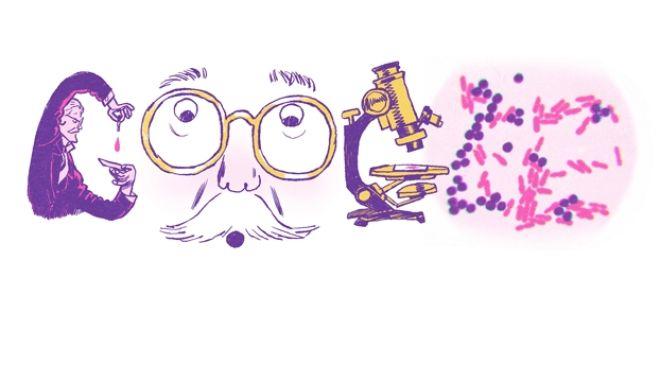 Το doodle της Google τιμά τον Hans Christian Gram