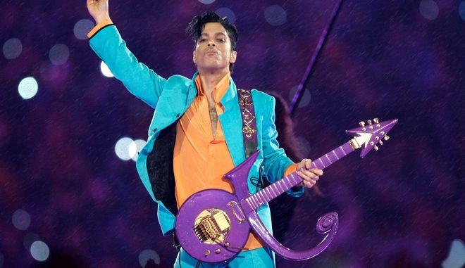 """Ο """"πρίγκιπας της ποπ"""" μουσικής, Prince"""