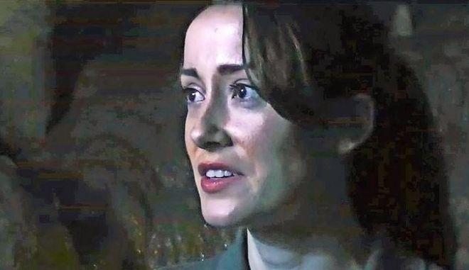 Η Aisling Tucker Moore-Reed σε σκηνή από την ταινία