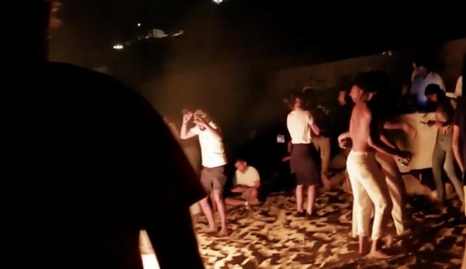 """Μύκονος: """"Anti coronavirus"""" πάρτι σε παραλία"""