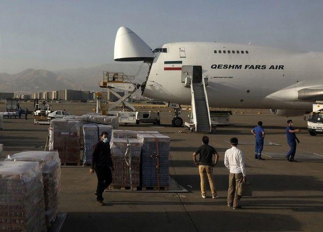 Είδη πρώτης ανάγκης από το Ιράν στη Βηρυτό