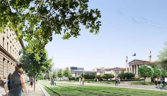 Πώς θα είναι το κέντρο της Αθήνας το 2016