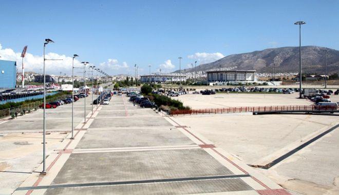 Η έκταση στο πρώην αεροδρόμιο του Ελληνικού