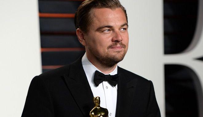 """Ο Λεονάρντο Ντι Κάπριο έχει ήδη ένα Όσκαρ πρώτου αντρικού ρόλου το οποίο απέσπασε το 2016 για τον ρόλο του στην ταινία """"The Revenant"""""""