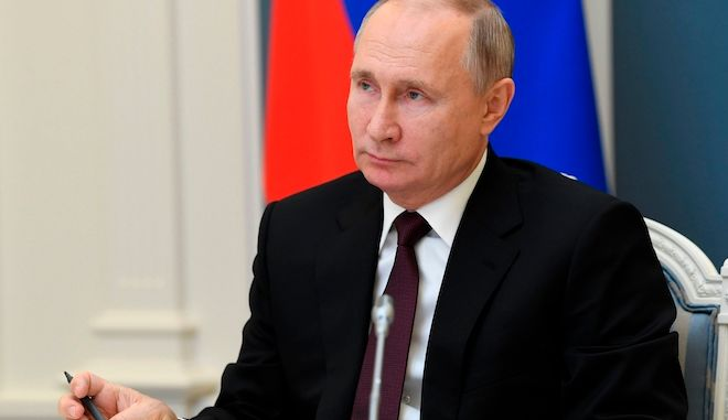 Ο Ρώσος πρόεδρος Βλαντιμίρ Πούτιν