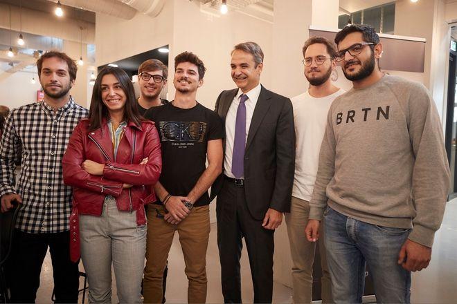 Μητσοτάκης με φοιτητές στο Eindhoven: Έχουμε κι εμείς καλά πανεπιστήμια