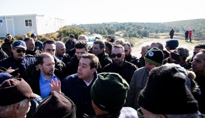 Ο υπουργός  Μετανάστευσης και Ασύλου, Νότης Μηταράκης