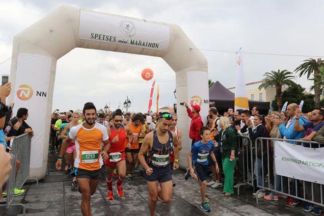 Η ΝΝ Hellas Χρυσός Χορηγός στο επιτυχημένο «Spetses mini Marathon» για 5η συνεχή χρονιά