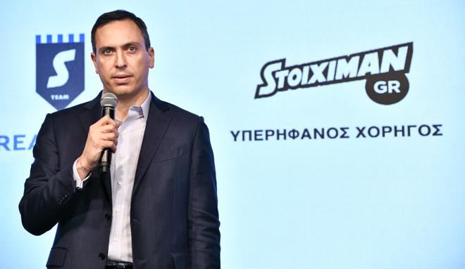 Ο CEO της Stoiximan, Γιώργος Δασκαλάκης