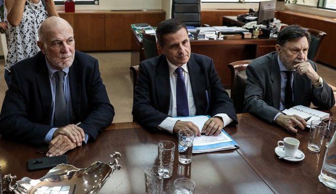 Το προεδρείο του Συνδέσμου Ελληνικών Τουριστικών Επιχειρήσεων (ΣΕΤΕ)