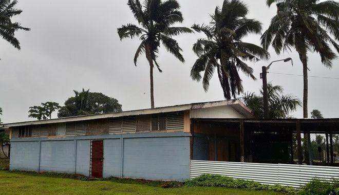 Πέρασμα του κυκλώνα Γιάσα από τα νησιά Φίτζι