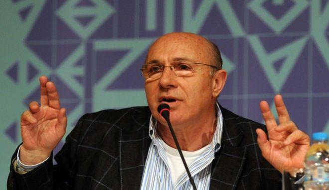 Ο διευθυντής του Φεστιβάλ Αθηνών και Επιδαύρου Γιώργος Λούκος, παρουσιάζει το πρόγραμμα των εκδηλώσεων την Δευτέρα 17 Μαρτίου 2014. (EUROKINISSI/ΕΥΗ ΦΥΛΑΚΤΟΥ)