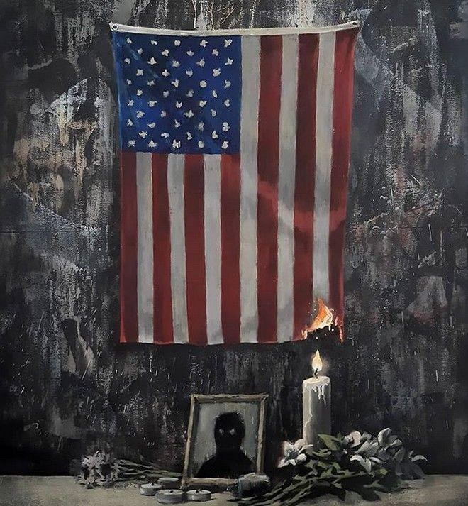 Δολοφονία Φλόιντ: Ο Banksy