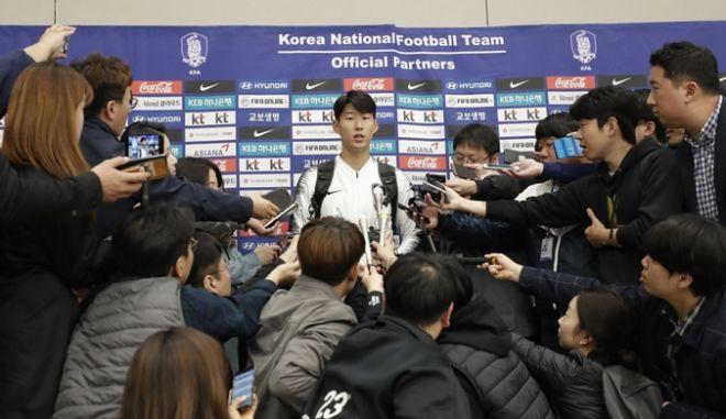 Οι Νοτιοκορεάτες στην επιστροφή τους