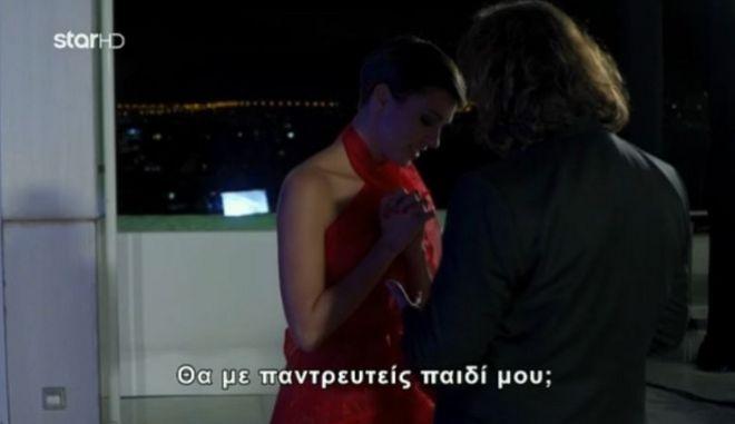 """Τελικός GNTM 2: Η πρόταση γάμου στην Κάτια και το """"όχι"""" στον αγαπημένο της"""