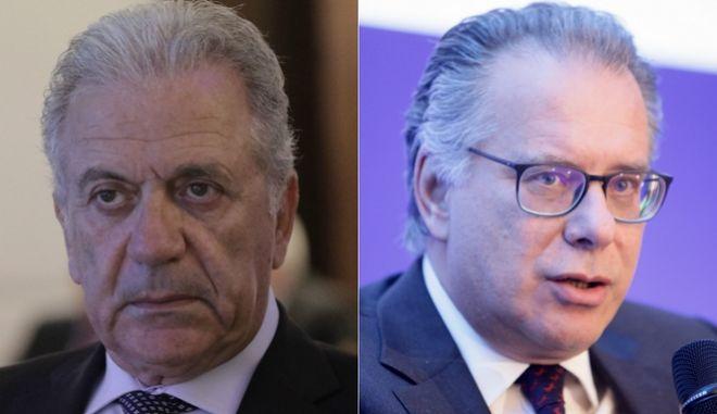 Δημήτρης Αβραμόπουλος - Γιώργος Κουμουτσάκος