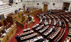 H αίθουσα της Ολομέλειας της Βουλής