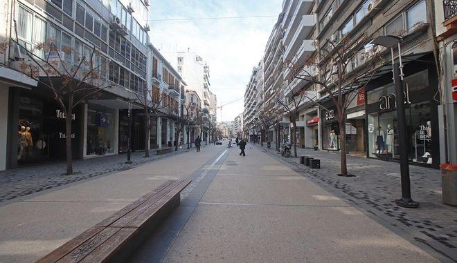 Κλειστά μαγαζιά στη Θεσσαλονίκη